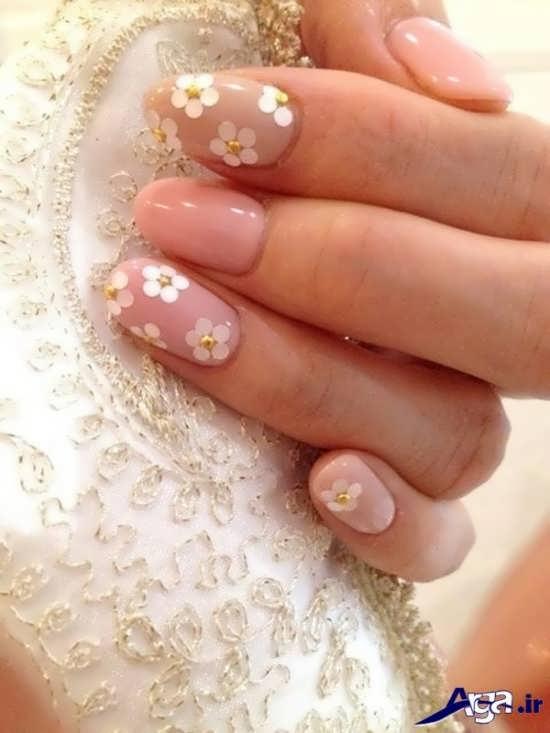 مدل طراحی ناخن عروس