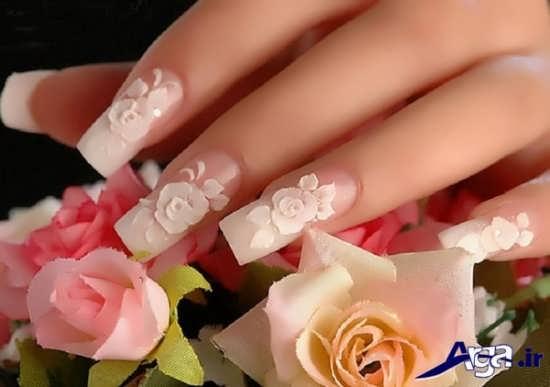 طراحی ناخن عروس زیبا و مدرن