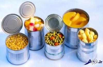 مسمومیت های غذایی با انواع کنسرو