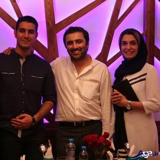 تصاویر الیکا عبدالرزاقی و همسرش
