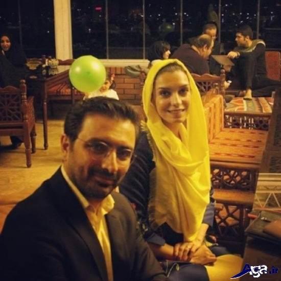 تصاویر جالب الیکا عبدالرزاقی و همسرش