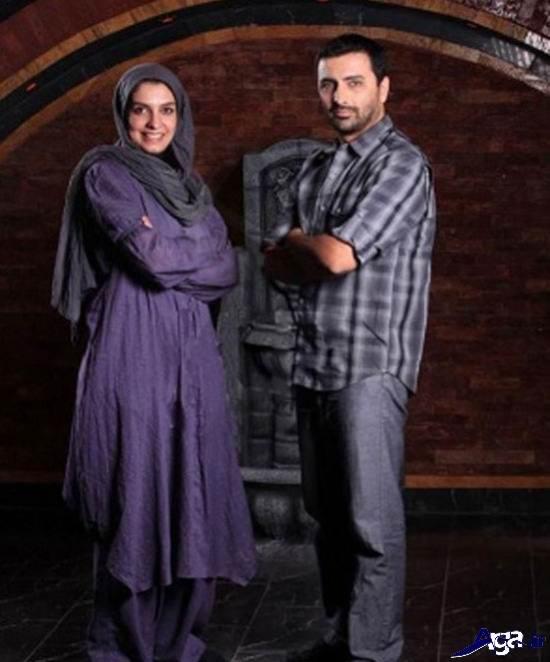 عکس های الیکا عبدالرزاقی و همسرش