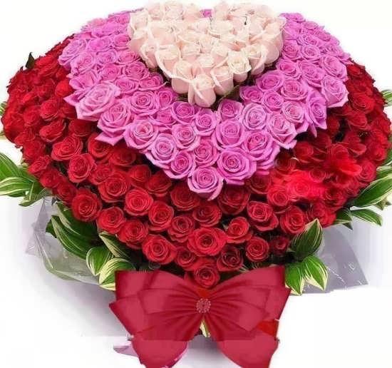 تصاویر گل های قلبی برای پروفایل
