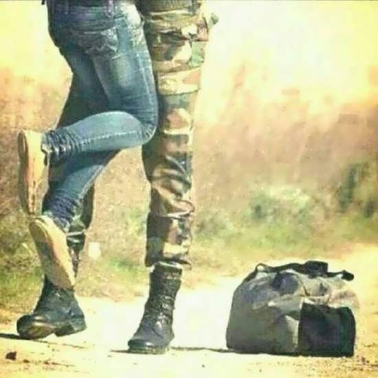 تصاویر عاشقانه سربازی