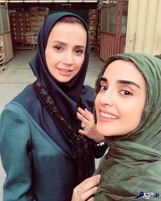 عکس های الهه حصاری و شبنم قلی خانی