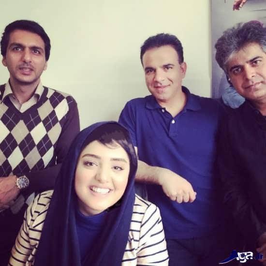 عکس های نرگس محمدی با گریم های خاص