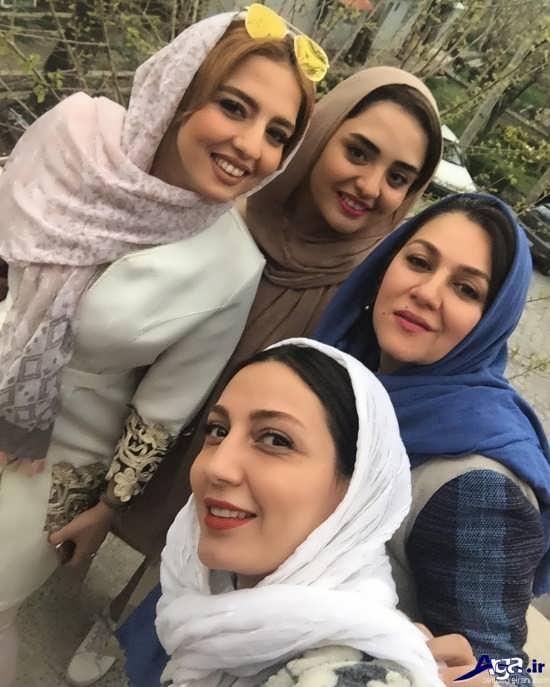 عکس های نرگس محمدی و خواهرش