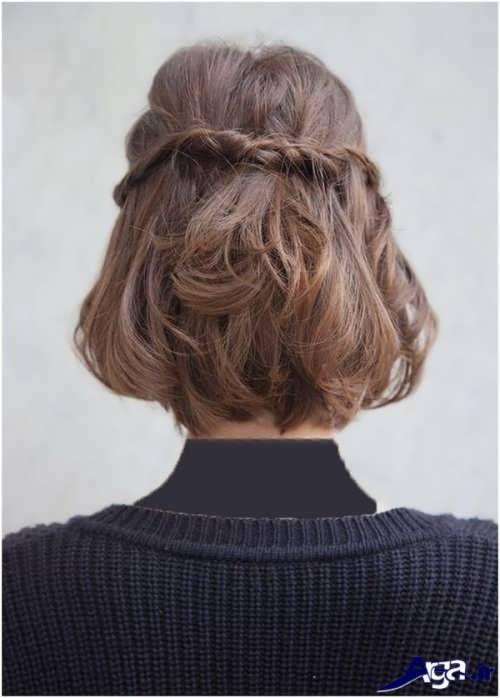مدل آرایش مو برای موهای کوتاه
