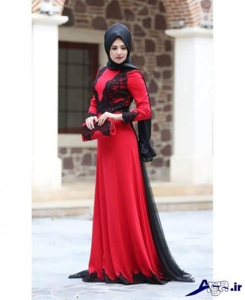 لباس مجلسی بلند ایرانی
