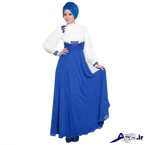 مدل لباس مجلسی ایرانی پوشیده
