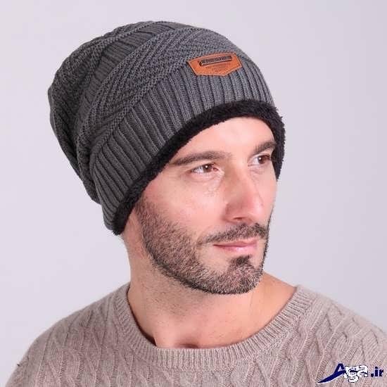 مدل کلاه بافتنی مردانه زیبا و جذاب