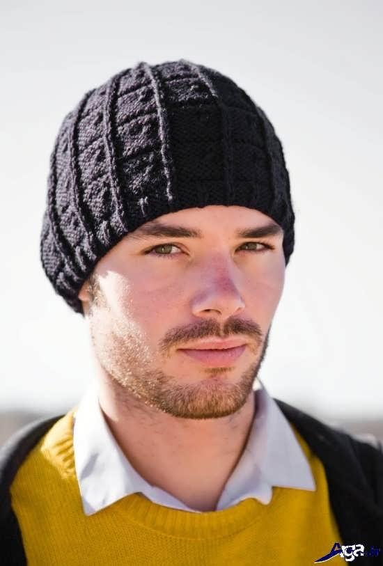 مدل کلاه های بافتنی زیبای مردانه