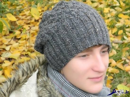 انواع کلاه های زیبای بافتنی مردانه