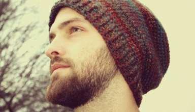 مدل کلاه بافتنی زیبا و جذاب مردانه