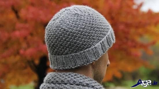 جدیدترین مدل کلاه بافتنی مردانه زیبا