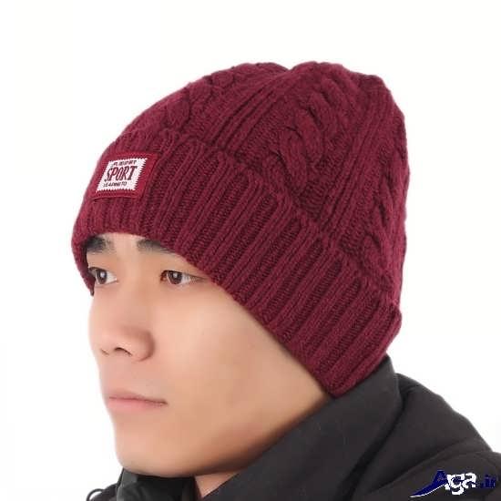 کلاه های بافتنی زیبای مردانه