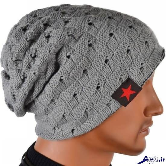 مدل کلاه بافتنی مردانه شیک و زیبا با طرح های جدید سال