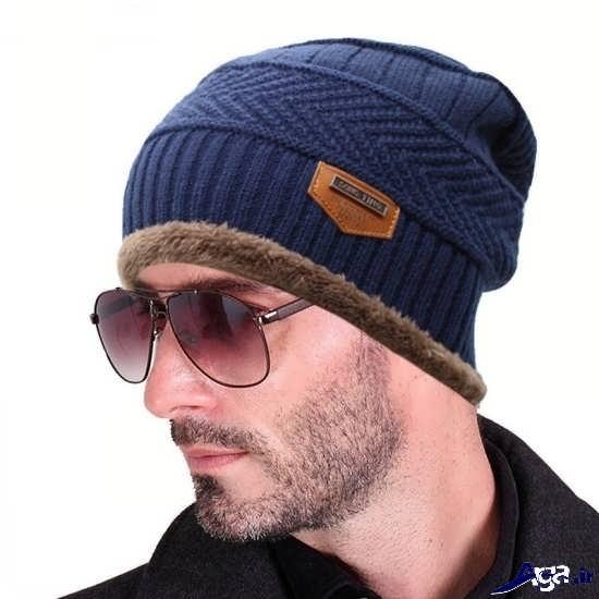 انواع کلاه های بافتنی شیک و جذاب مردانه