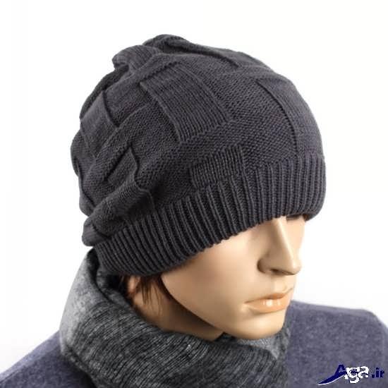 مدل کلاه های شیک بافتنی مردانه