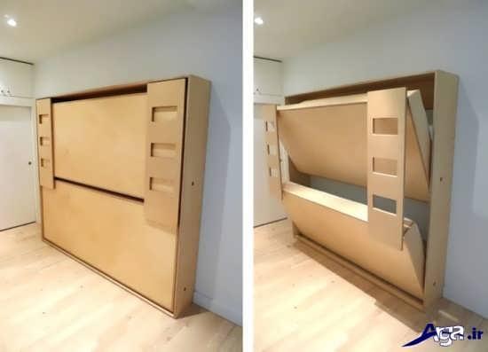 شیک ترین و جدیدترین مدل تخت خواب تاشو