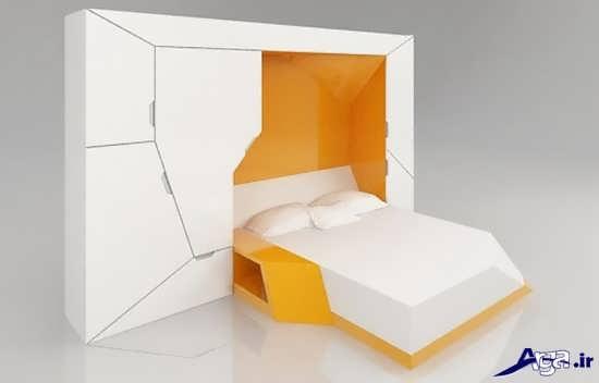زیباترین و مدرن ترین انواع تخت خواب تاشو