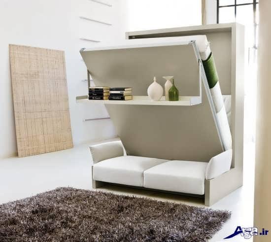 انواع مدل تخت خواب تاشو بسیار زیبا و مدرن