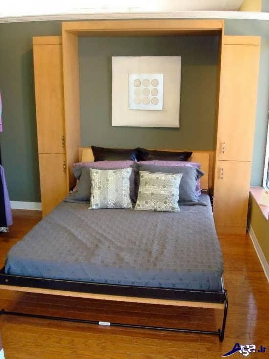 مدرن ترین انواع تخت خواب های زیبای تاشو