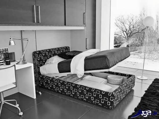 انواع زیبا و جداب تخت خواب های دونفره