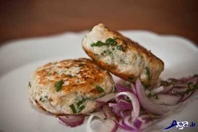 طرز تهیه همبرگر مرغ خوشمزه