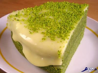 طرز تهیه کیک خوشمزه اسفناج