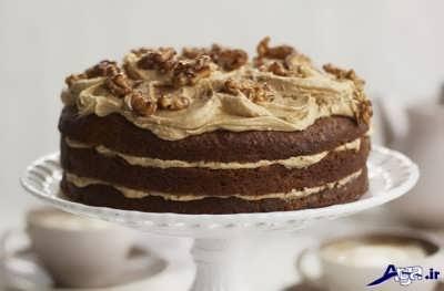 روش پخت کیک قهوه در خانه