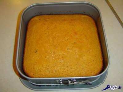 تصاویر زیبای پخت کیک کدوحلوایی