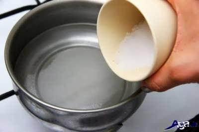 مخلوط شکر و آب