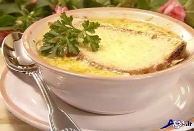 طرز تهیه سوپ پیاز با طعم عالی