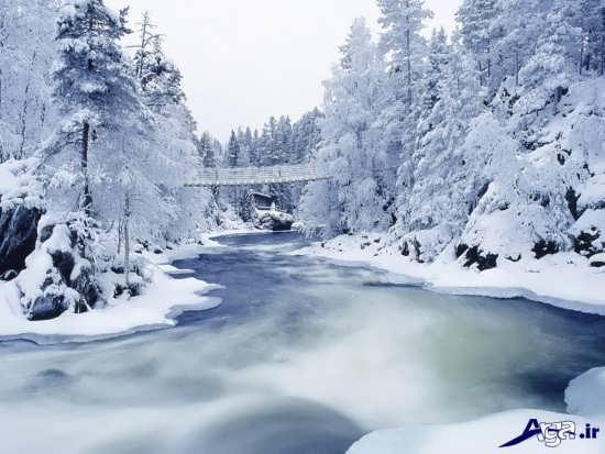 تصاویر برفی بسیار زیبا