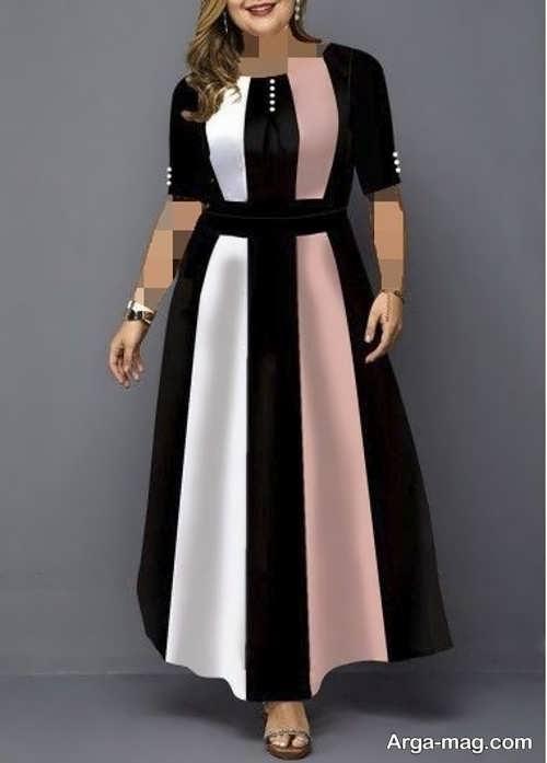 مدل لباس مجلسی بانوان چاق