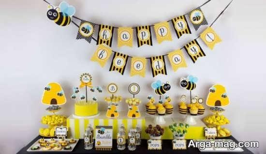 تزیین تولد زنبوری