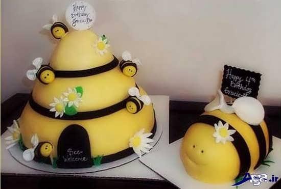 عکس تزیین تم تولد زنبوری