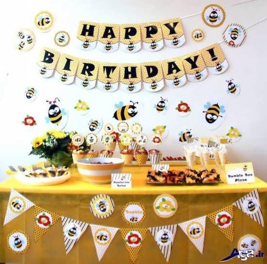 تم جشن تولد زنبوری برای کودکان