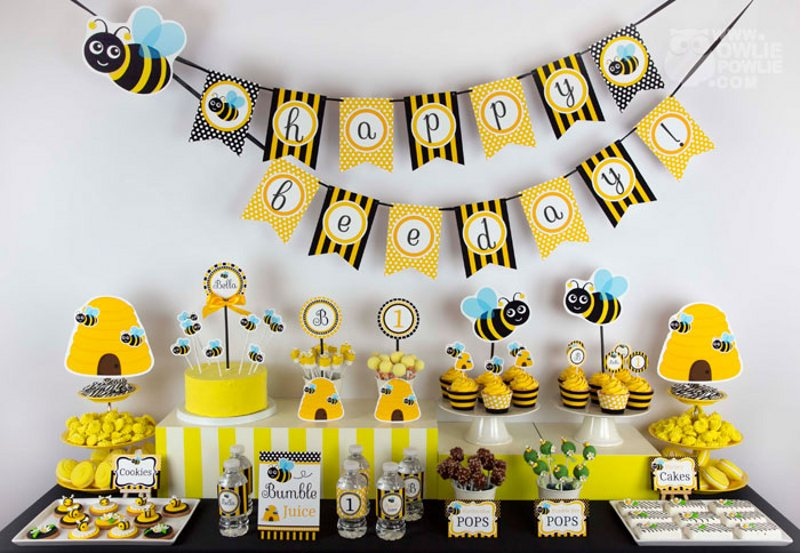 Bee Decorations For Cakes