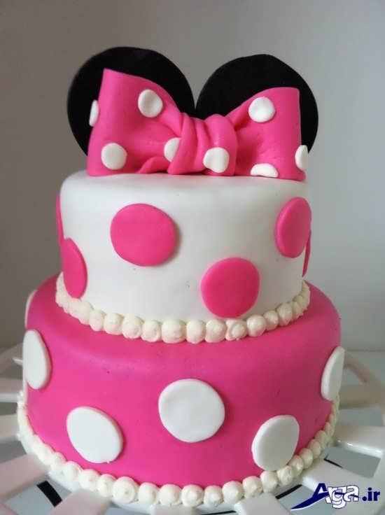 تزیین کیک تولد با کمک خمیر فوندات