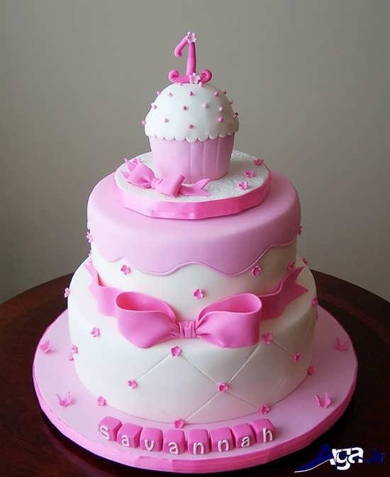 تزیین زیبا و متفاوت کیک تولد