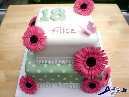 مدل تزیین کیک تولد دخترانه