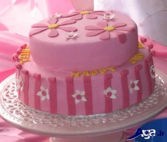 تزیین زیبا و شیک کیک
