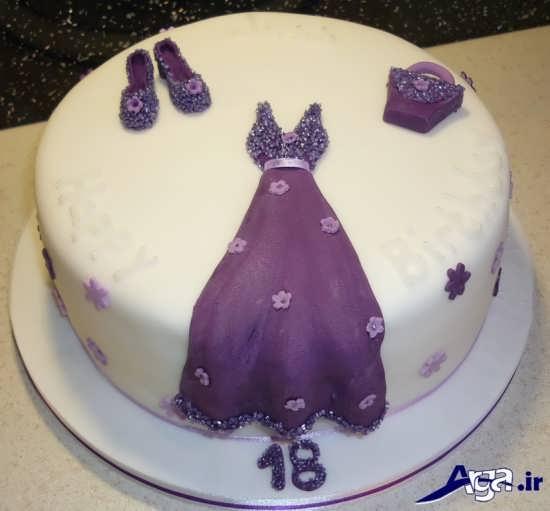 تزیین زیبا کیک تولد