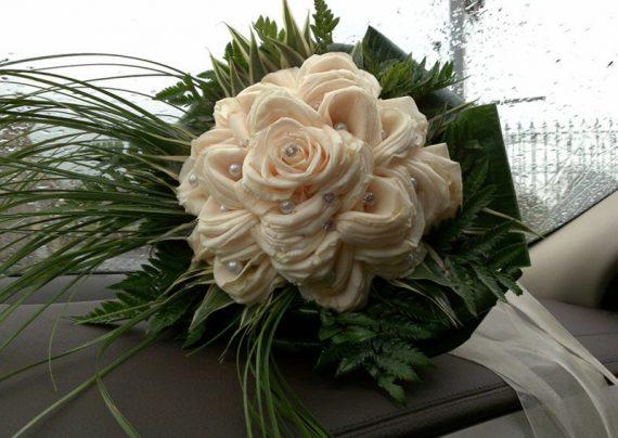 دسته گل عروس 2017