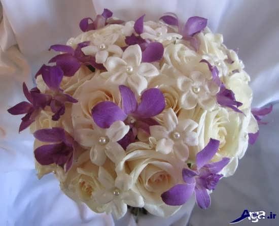 دسته گل طبیعی برای عروس