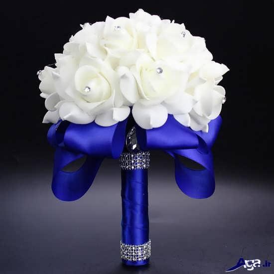 دسته گل زیبا و شیک عروس