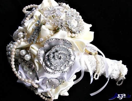 دسته گل عروس سال 2017