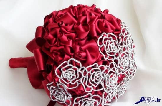 مدل دسته گل عروس پارچه ای